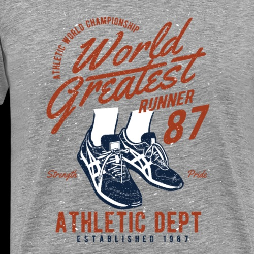 World Greatest Runner - Männer Premium T-Shirt