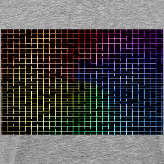 techno rainbow