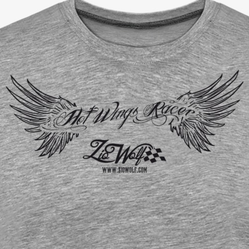 Hot Wings Racer - ZioWolf - Maglietta Premium da uomo