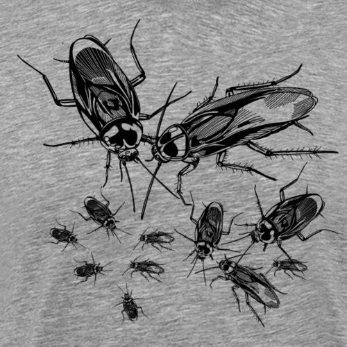 Cucarachas - Camiseta premium hombre