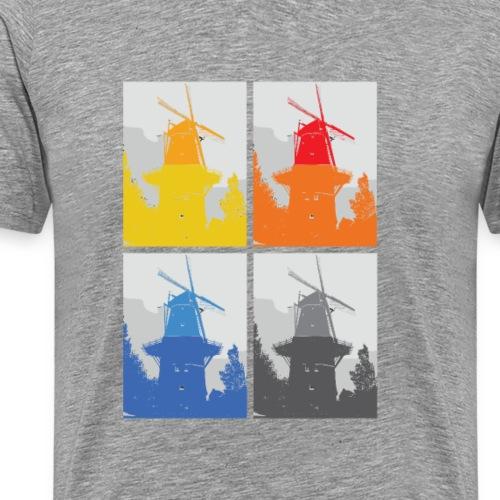 Mills - Herre premium T-shirt