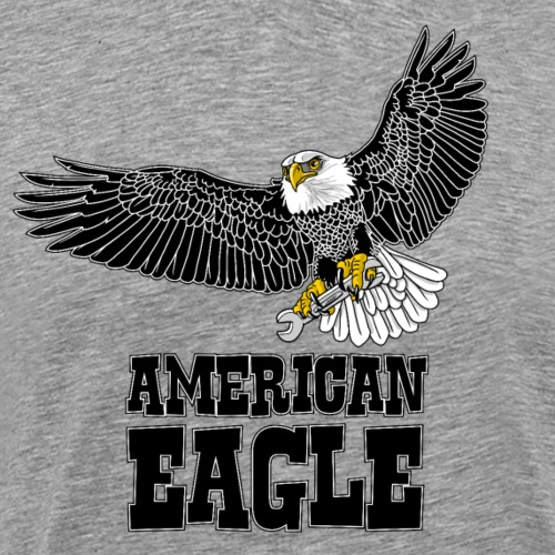 American eagle 2 - Mannen Premium T-shirt