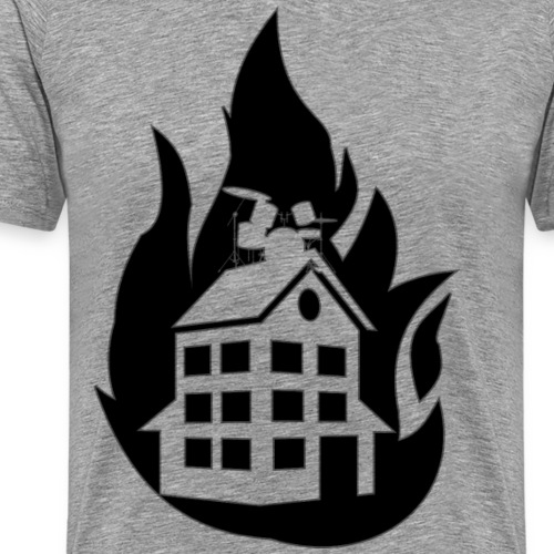 firehouse färglös - Premium-T-shirt herr