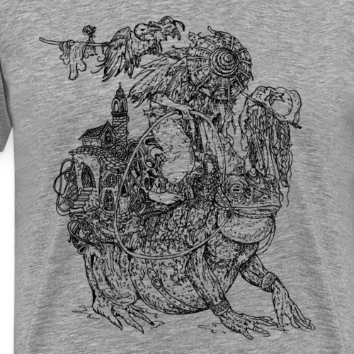 Adventure Frog - Männer Premium T-Shirt