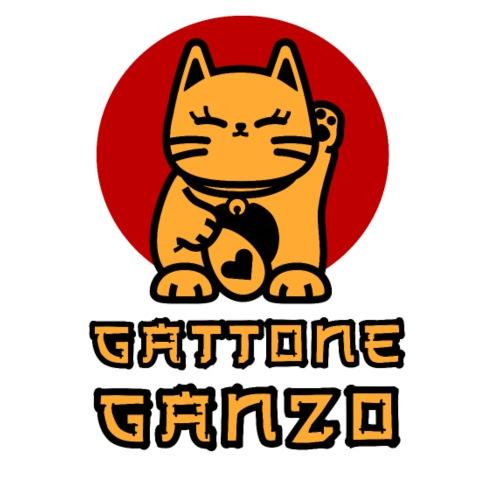 Gattone Ganzo - Maglietta Premium da uomo