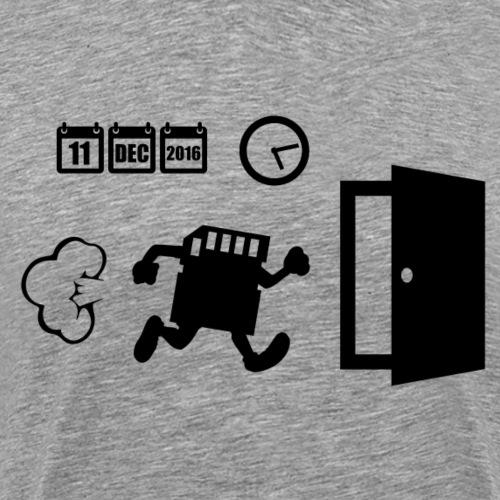 SDCARDBlack - Men's Premium T-Shirt