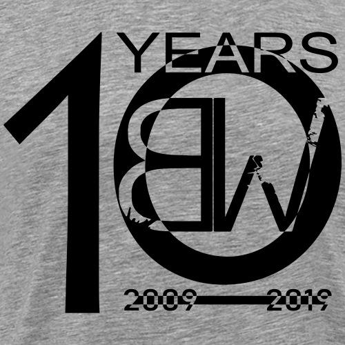 10years-shirt1 - Männer Premium T-Shirt