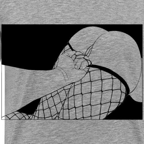 Ass Up! - Maglietta Premium da uomo