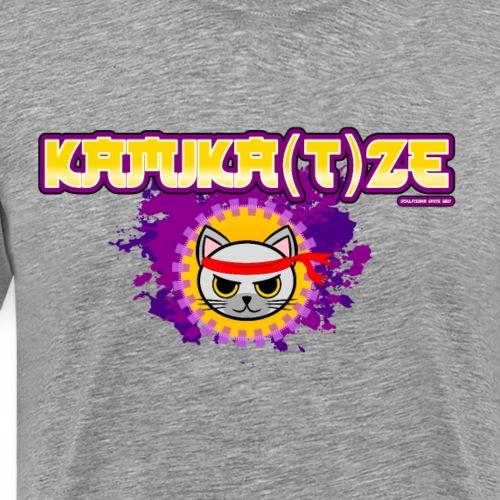 KAMIKA(T)ZE gold/ lila - Männer Premium T-Shirt