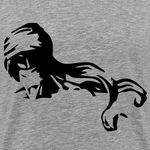 Touareg homme bleu - T-shirt Premium Homme