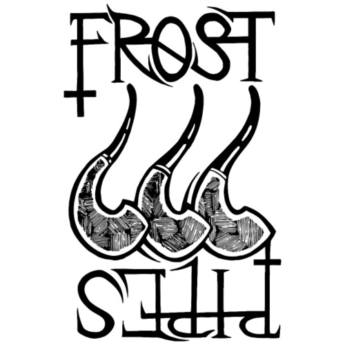 Frost Pipes Logo - Men's Premium T-Shirt
