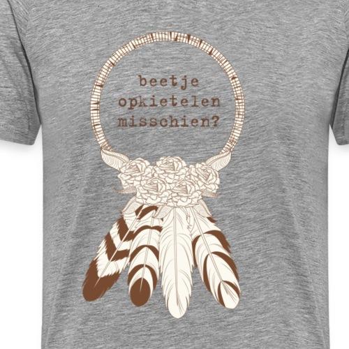 Opkietelen - Mannen Premium T-shirt