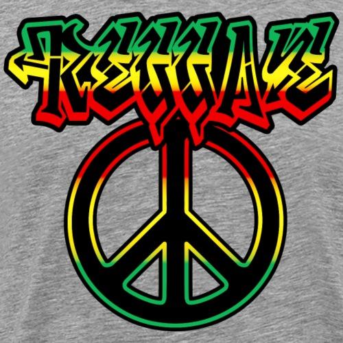 reggae peace - T-shirt Premium Homme