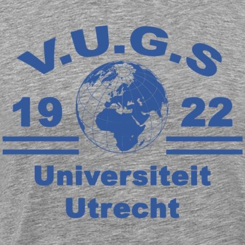 V.U.G.S. Society Blauw - Mannen Premium T-shirt