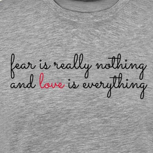 Liebe ist alles - love is everything - Männer Premium T-Shirt