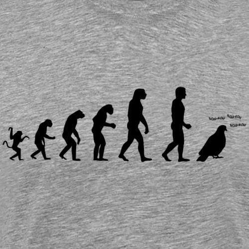 Evolution de l'homme :Tous des pigeons! N