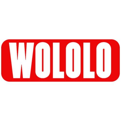 Wololo - 1- Mobii_3 Edition - Red&White abgerundet - Männer Premium T-Shirt