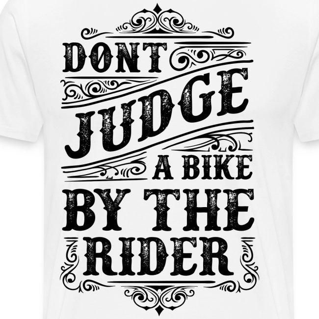 Don't judge…