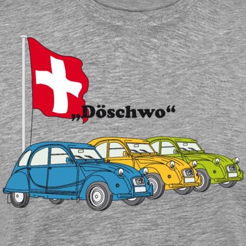 2cv doeschwo - Männer Premium T-Shirt