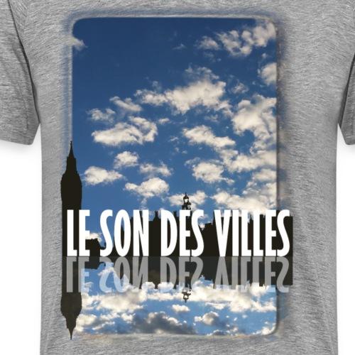 Lesondesvilles : Nuage - T-shirt Premium Homme