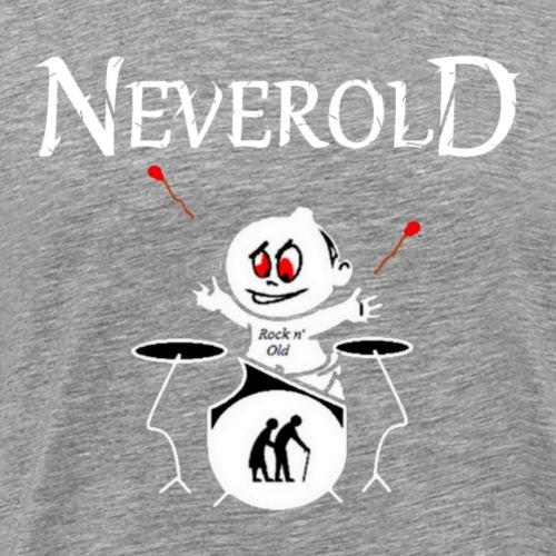 LOGO NEVEROLD - T-shirt Premium Homme