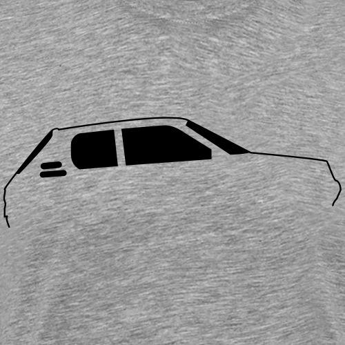 205gti Profil - T-shirt Premium Homme
