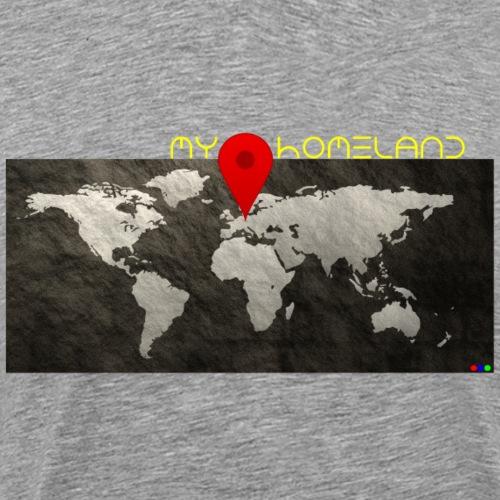 homeland my base - Männer Premium T-Shirt