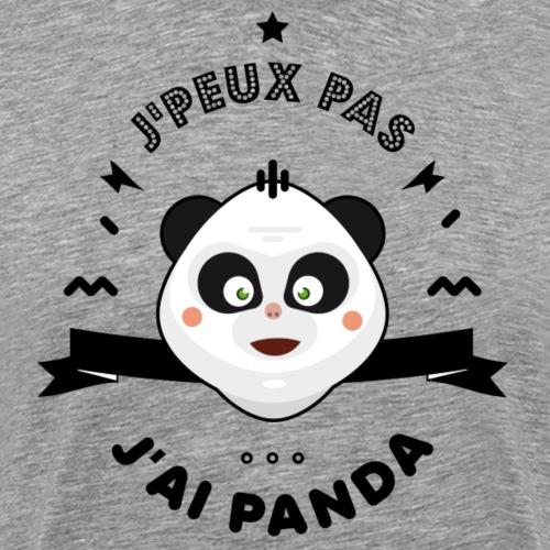 j'peux pas j'ai panda - T-shirt Premium Homme