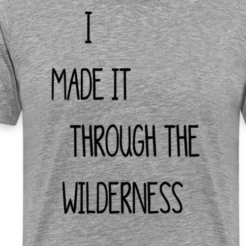 wilderness - Männer Premium T-Shirt
