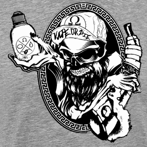 Vape Or Die - Maglietta Premium da uomo