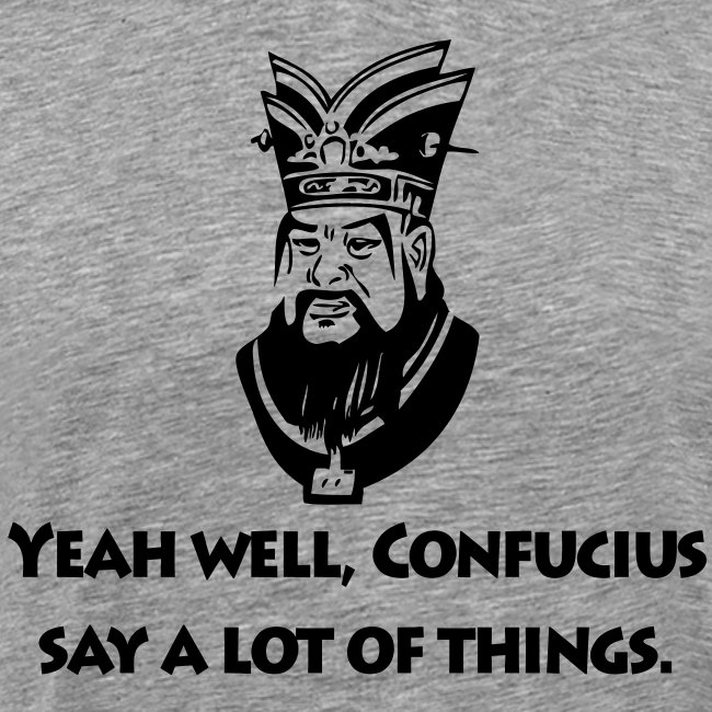 poke tee confucius