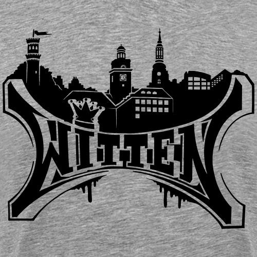 Witten City - Männer Premium T-Shirt