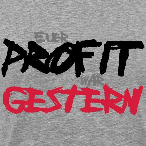 profit - Männer Premium T-Shirt