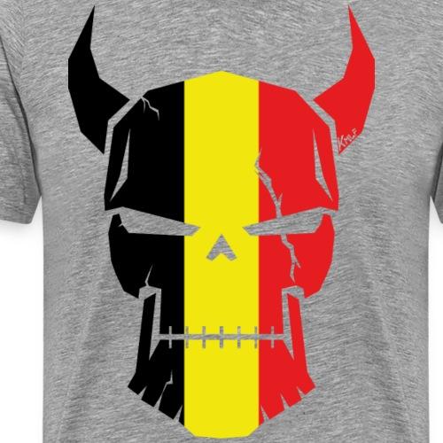 Patriot skull - T-shirt Premium Homme