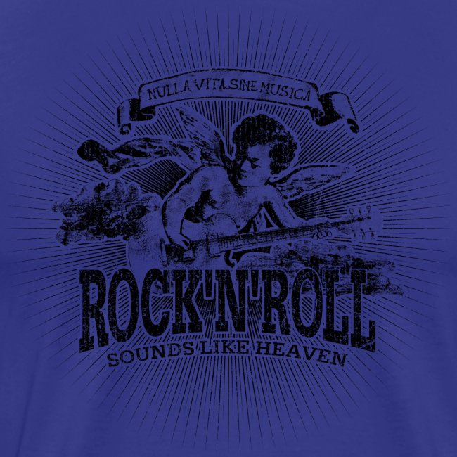 Rock 'n' Roll - Sounds Like Heaven (black)