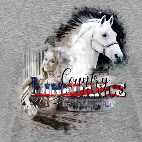 kl_linedance66 T-Shirts - Männer Premium T-Shirt