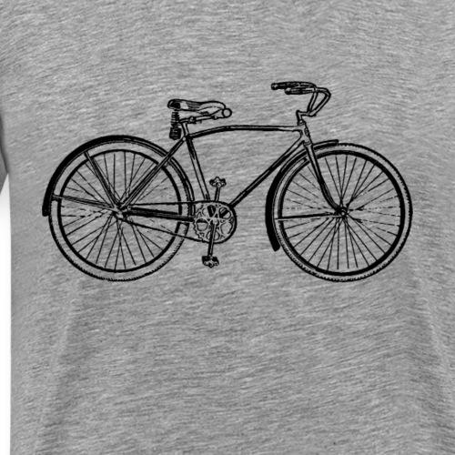 vintage bike - Men's Premium T-Shirt