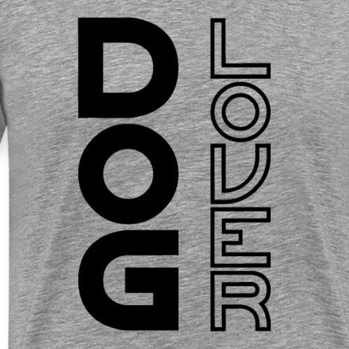 Dog lover Schwarz Hundeliebe