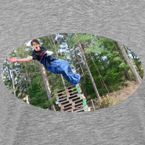 woods - Premium-T-shirt herr