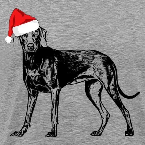 Weihnachten Weimaraner Hund Geschenk Geschenkidee - Männer Premium T-Shirt