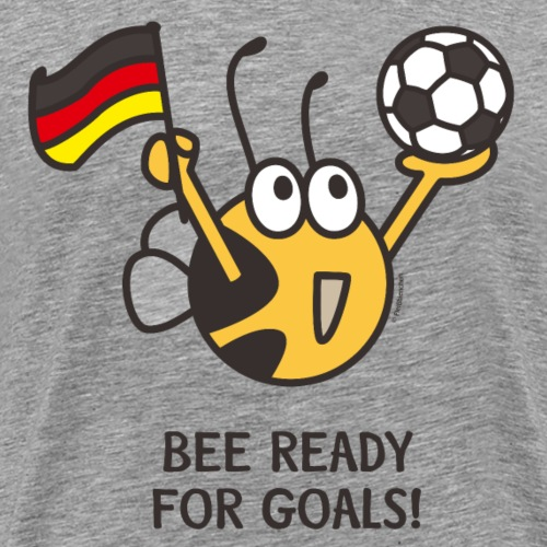 BEE READY FOR GOALS - Männer Premium T-Shirt