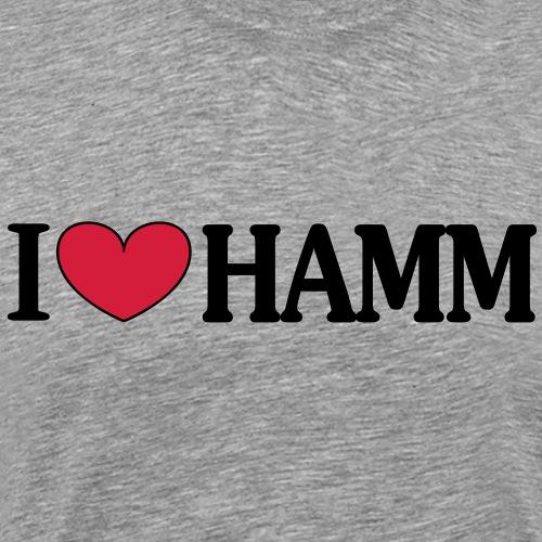 I love HAMM - Männer Premium T-Shirt