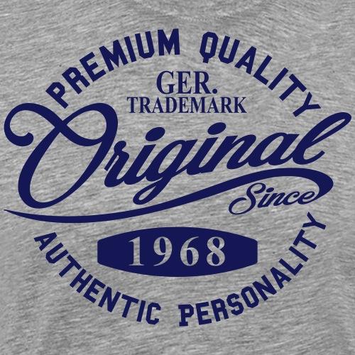 Original Since 1968 Handwriting Premium Quality - Männer Premium T-Shirt