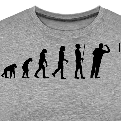 Evolution Darts - Männer Premium T-Shirt