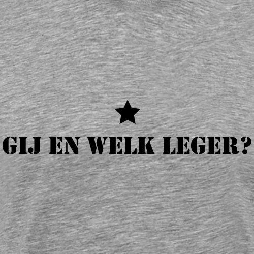 Leger - Mannen Premium T-shirt