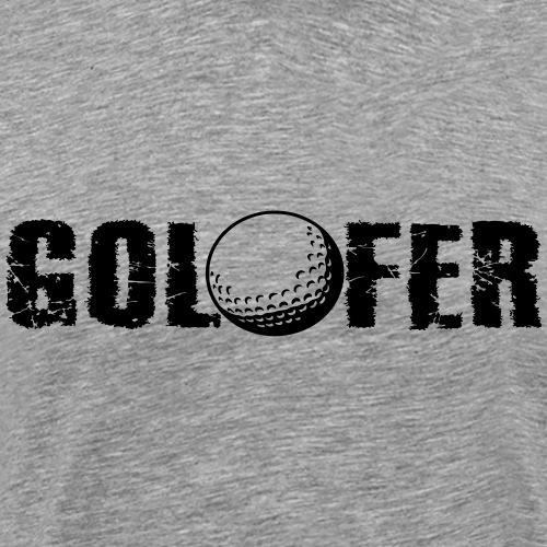 Golfer - Männer Premium T-Shirt