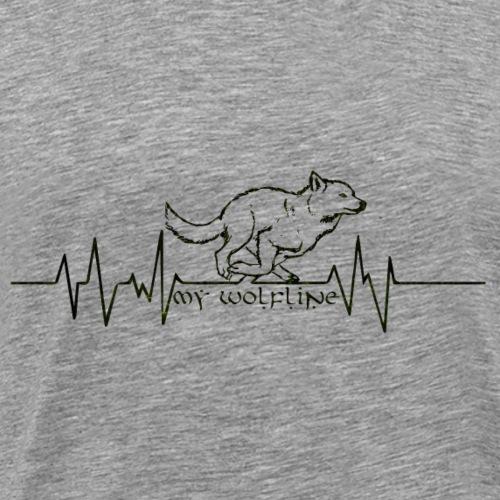 wolfline - T-shirt Premium Homme