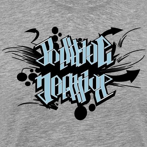 Positive Negative - Herre premium T-shirt