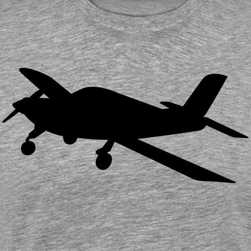 Flugzeug Morane Pilot fliegen - Männer Premium T-Shirt