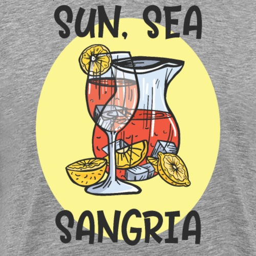 Sun, Sea, Sangria - Men's Premium T-Shirt